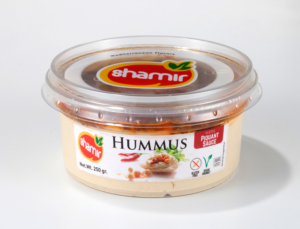 Hummus Abu-Gosh with Sauce Piquant (MP-26) Premium