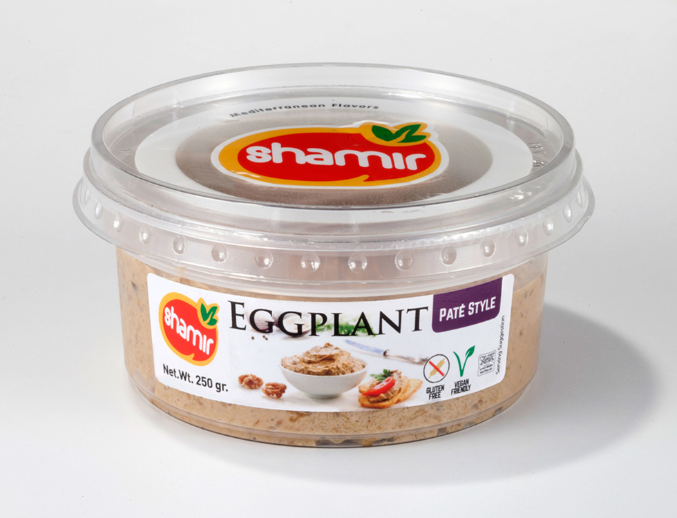 Eggplant Vegetables Pate Style (MP-34)